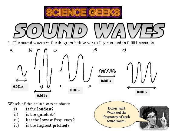 SOUND WAVES!