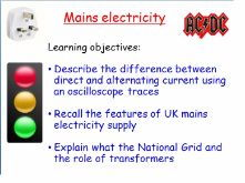 New AQA GCSE Physics: Alternating current