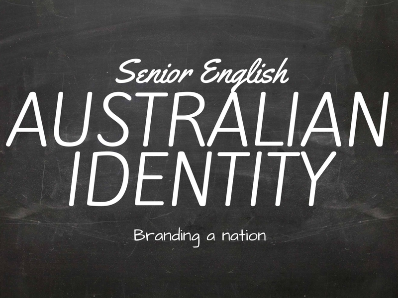 Australian Identity - The Bushman Stereotype - PPT, Activities, Posters