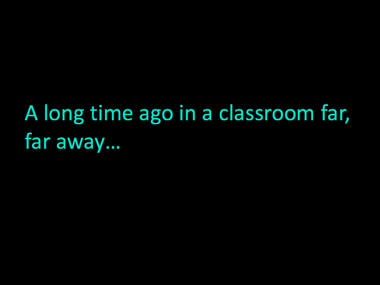 Science Fiction Themed Class Assembly - Star Wars