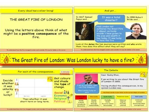 The Great Fire of London: Was London lucky to have a fire in 1666?