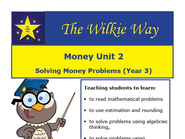 Solving Money Word Problems (Y3)