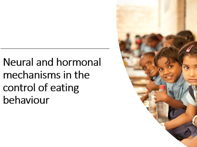 AQA Eating behaviour Neural and hormonal control of eating behaviour