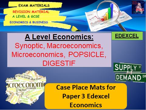 Macroeconomic and Microeconomic Scenarios: A Level Economics