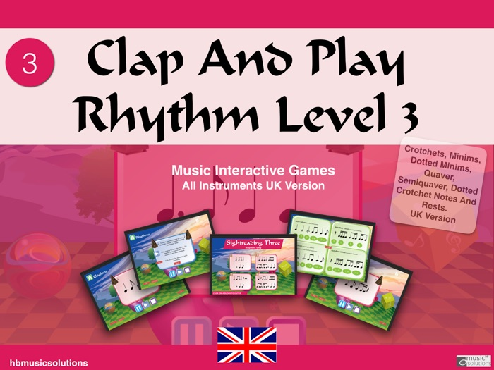 Clap And Play Rhythms Level 3