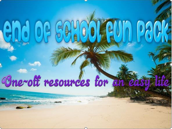 End of School Fun Pack