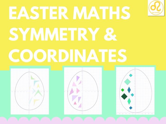 Easter Maths Symmetry Coordinates