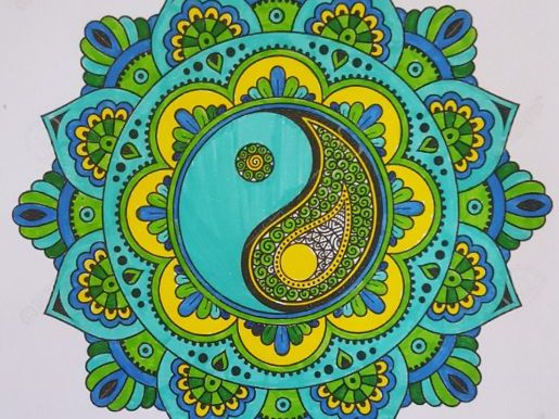 Mindful Mandalas - Colouring to help reduce anxiety and stress