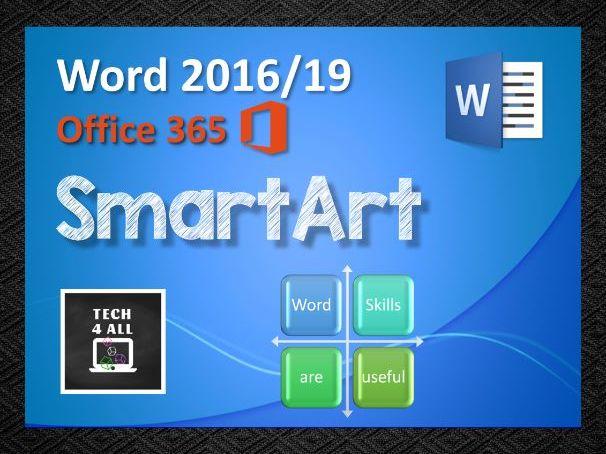 Microsoft Word: SmartArt