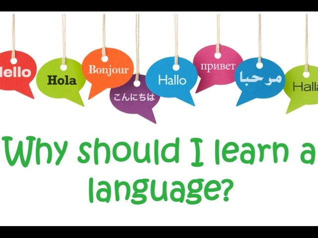 Reasons for learning a language - Why learn a language - motivation