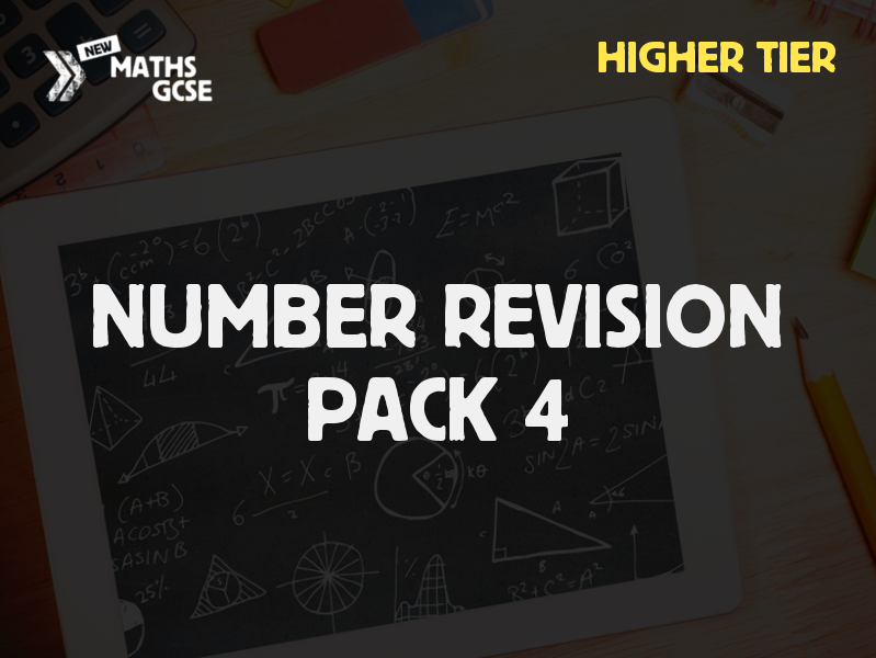 Number Revision Pack 4 (Higher Tier)