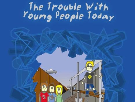 Sample Pages For The Trouble With Young People Today... Play Script