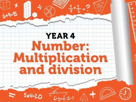 Year 4 - Multiplication and Division - Week 9