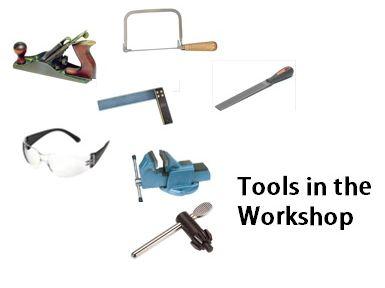 Design Technology Tools Worksheet