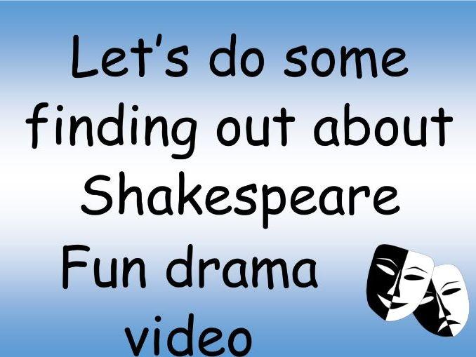 William Shakespeare fun facts video