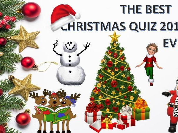 The Best Christmas Quiz 2019 Ever!