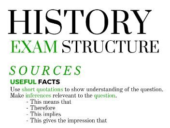 AQA A-Level History - Sources Question Guide Sheet