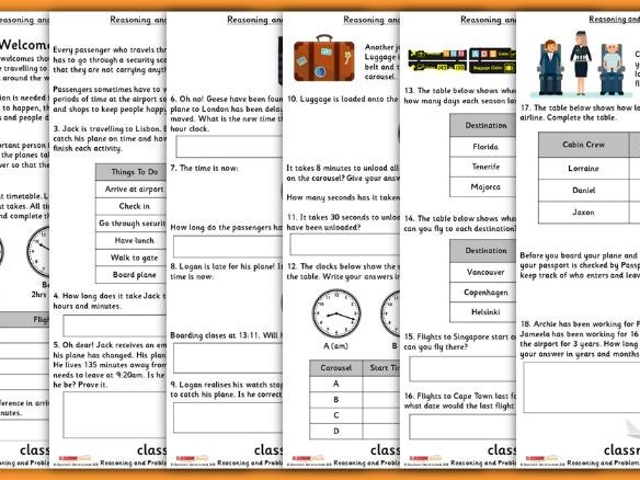Time Consolidation Year 4 Summer Block 3 Reasoning and Problem Solving