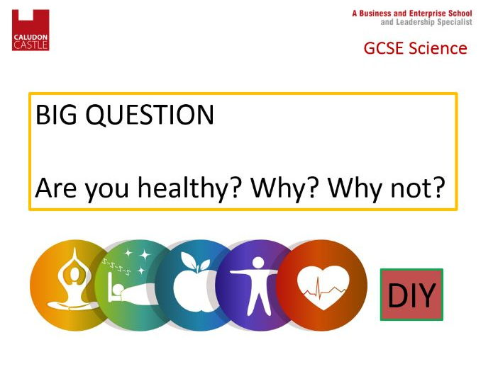 New AQA spec Health issues and non-communicable diseases