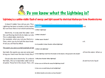 Do you know what the Lightning is?