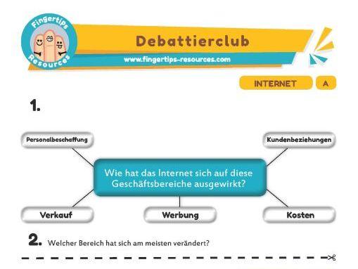 Internet - Debates in German