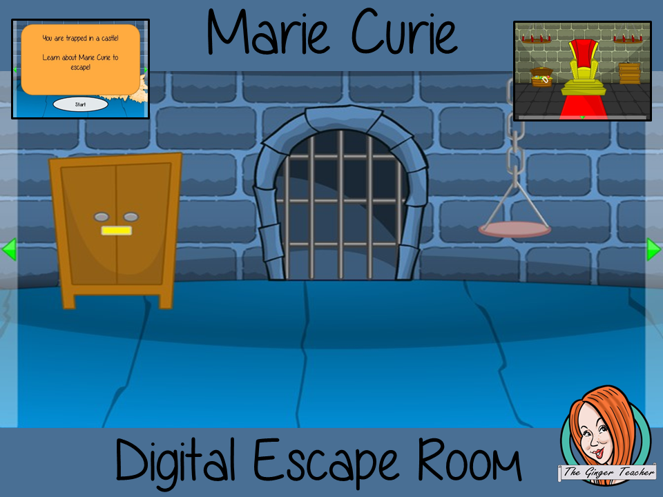 Marie Curie Escape Room