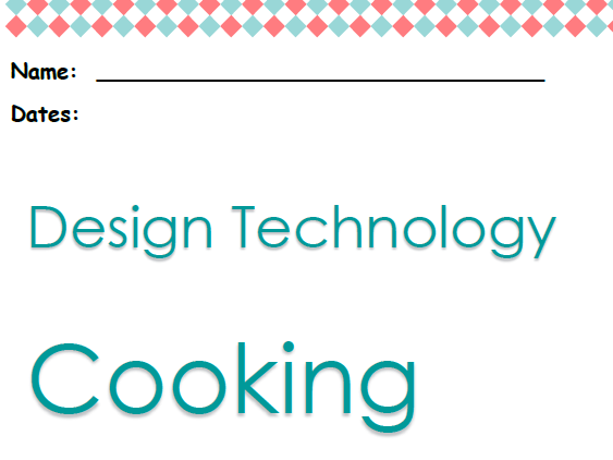 DT Bread cooking resources (recipe & worksheets)