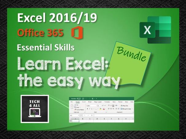 Microsoft Excel: Learn the easy way