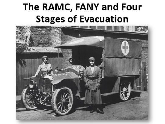 The RAMC, FANY and Four Stages of Evacuation