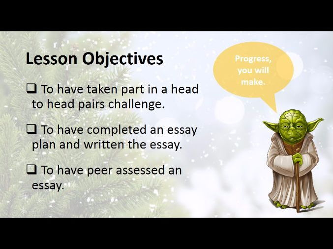 God Essay  Revision Lesson - AQA A Level Religious Studies