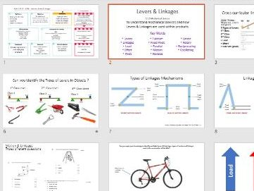 Mechanical devices , motions, levers & linkages