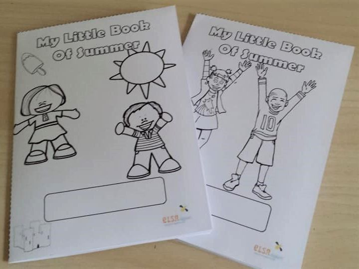 PSHE: My Little Book of Summer - Back to school activity