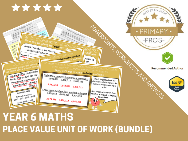 Place Value Year 6 (Unit of Work)