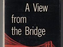 How does Miller present the relationships of Eddie, Beatrice and Catherine in A View From the Bridge