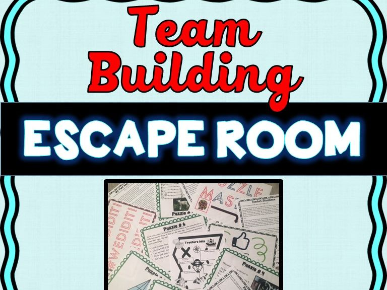 Team Building Escape Room - Any Content - Teamwork Challenge