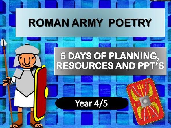 Roman Army Poetry   Complete Week