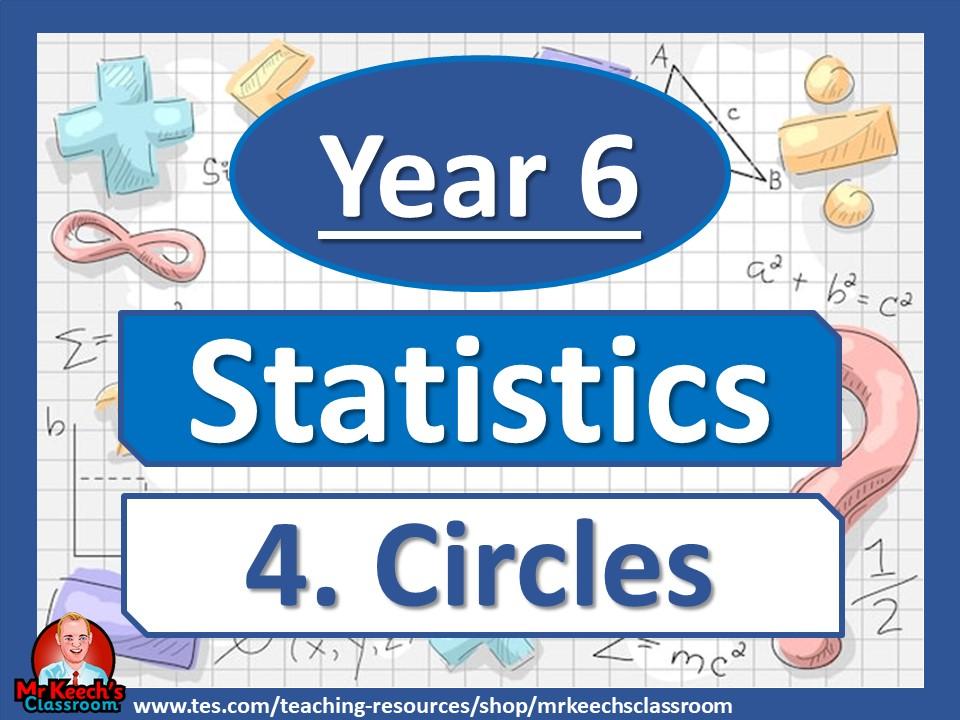 Year 6 - Statistics - Circles - White Rose Maths