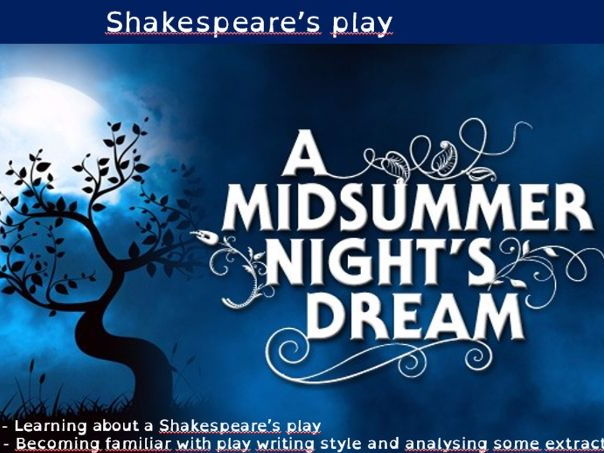 A Midsummer Night's Dream - The denouement Act 3 scene 3 / Act 4 scene 1