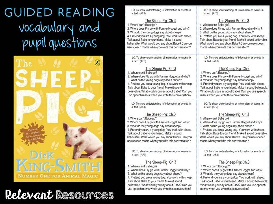 Guided Reading: Sheep-Pig