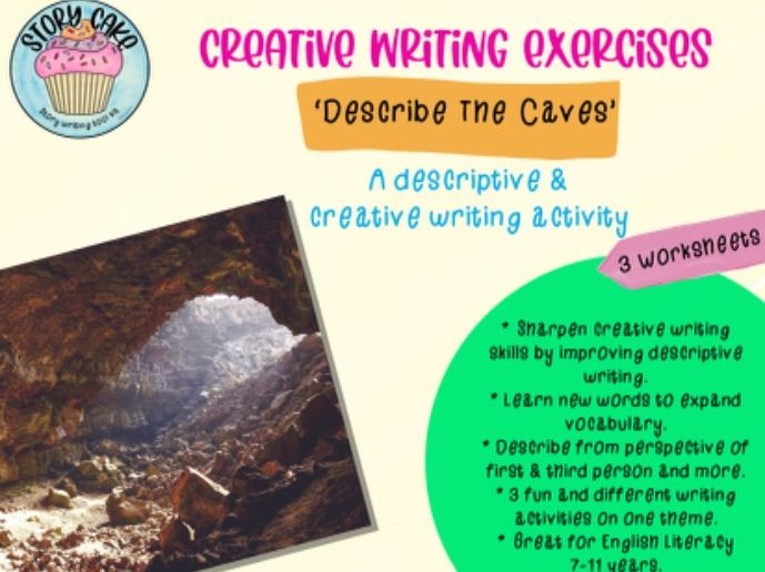 Describe the Caves - descriptive writing from different perspectives, creative writing