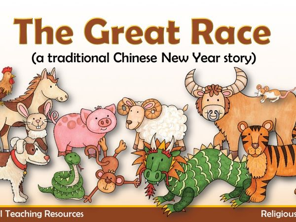 The Great Race PowerPoint