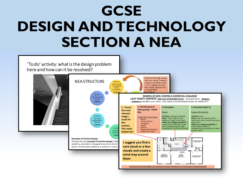 2021 AQA DT GCSE NEA Guide to Section A