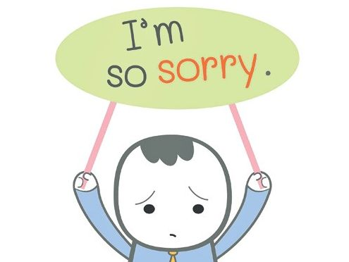 Class Assembly: SAYING SORRY!