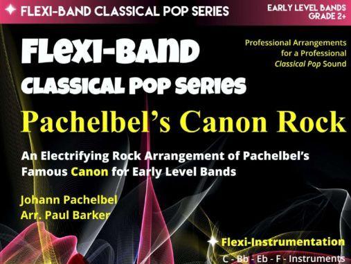 Pachelbel's Canon Rock  - (Flexi-band Score & Parts)