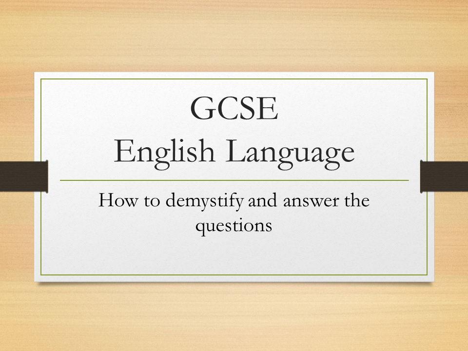 GCSEAQAEnglishLanguagePaper1ResourcePack