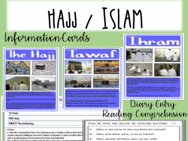 Hajj reading comprehension - RE - ISLAM