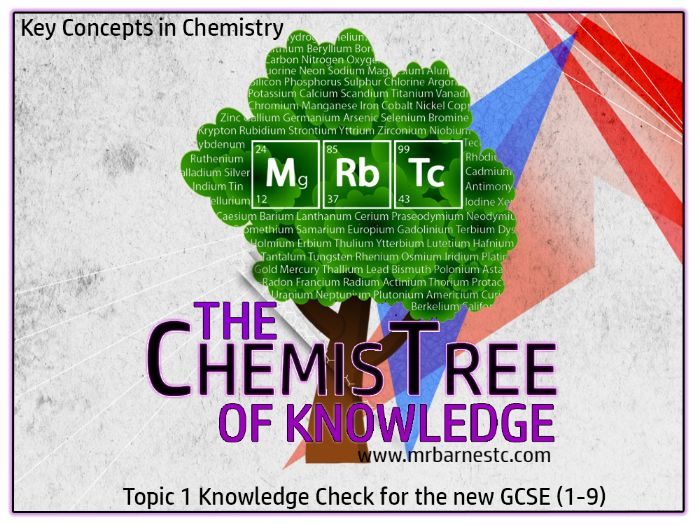 GCSE Chemistry 1-9 Key Concepts In Chemistry - Knowledge Check Questions