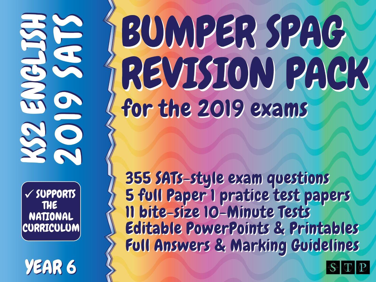 SATs SPaG Revision Pack Year 6 English