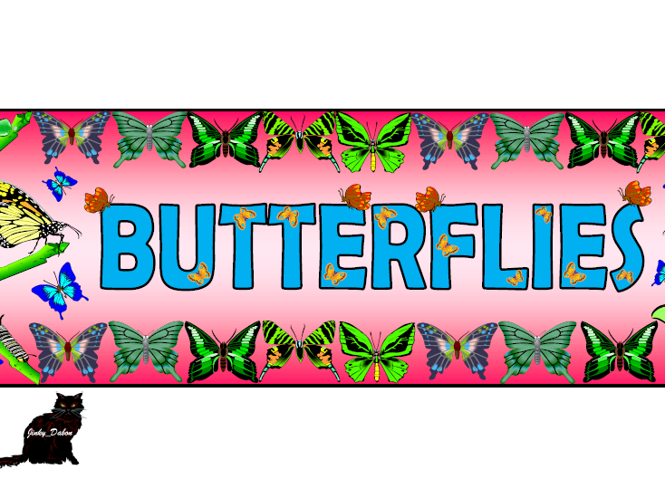 'Butterfly' Themed Pack