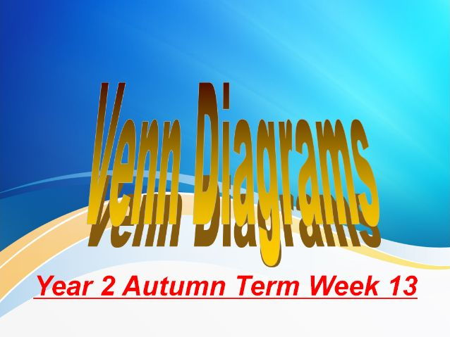 Year 2 Autumn Term Week 13 Data Handling And Venn Diagrams